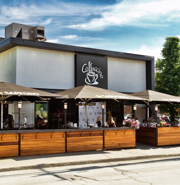 Caffuccino 1700 King Ouest, Sherbrooke