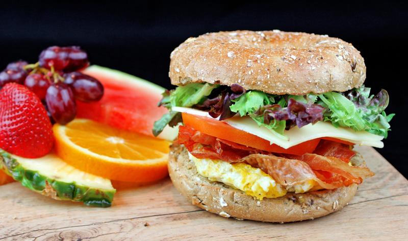 caffuccino sandwich matin