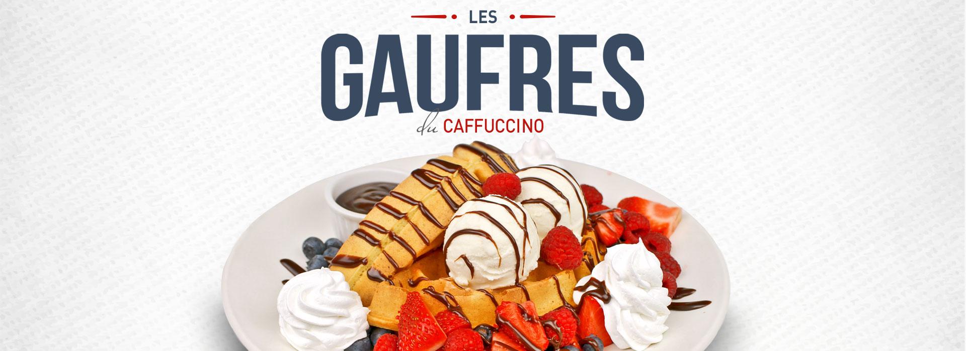 Caffuccino - Les Gaufres