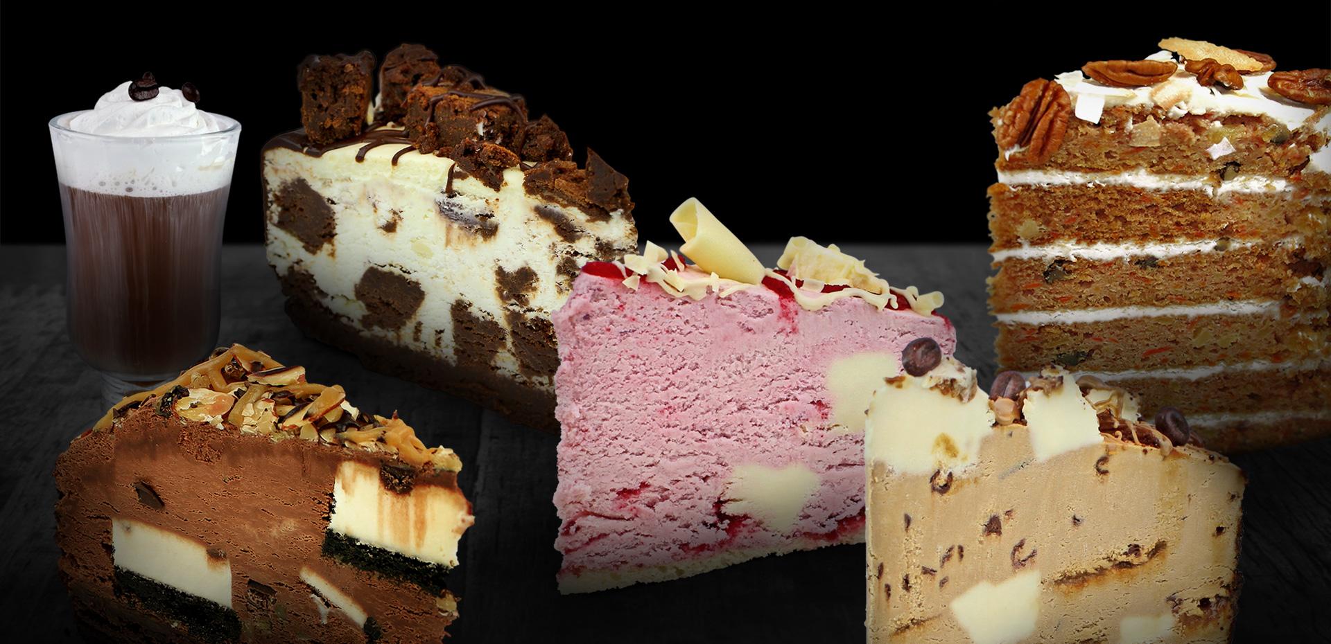 Les desserts légendaires du Caffuccino